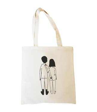 Helen B Helen B tote bag Nacked couple