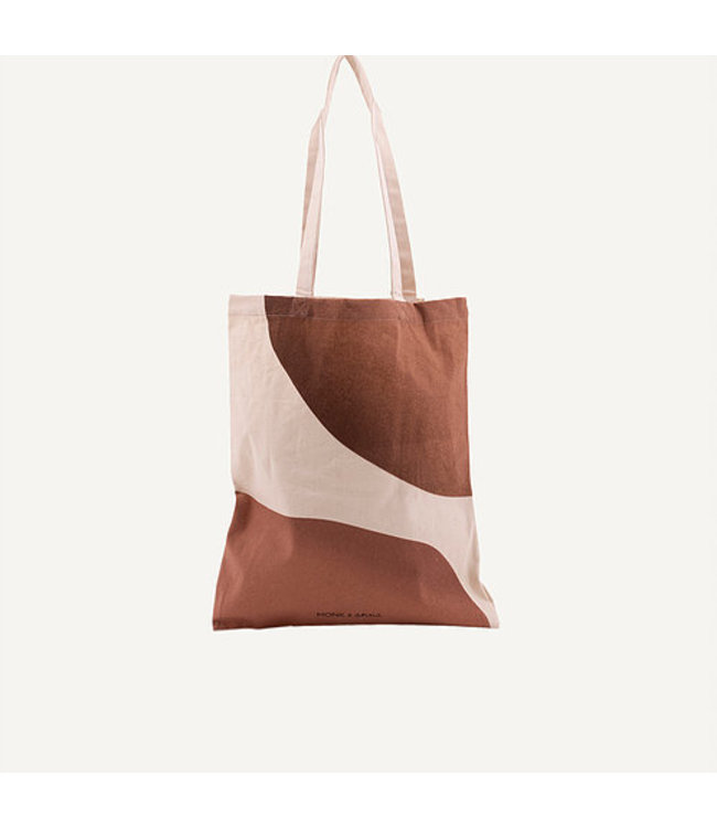 Monk & Anna totebag earthy