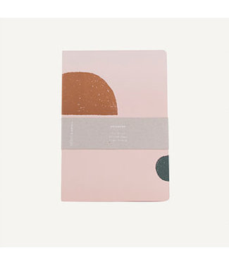 Notebook L soft pink | Monk en Anna