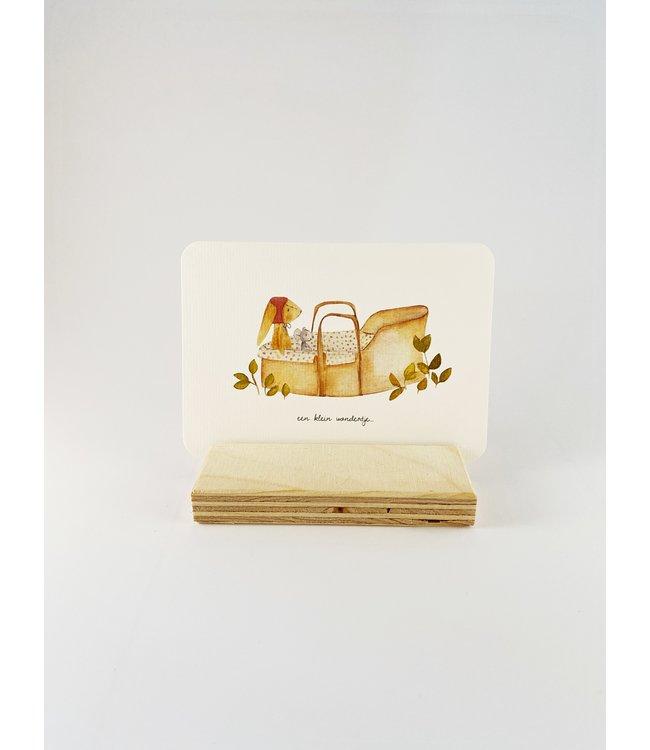 Mijksje postkaart - Een klein wondertje