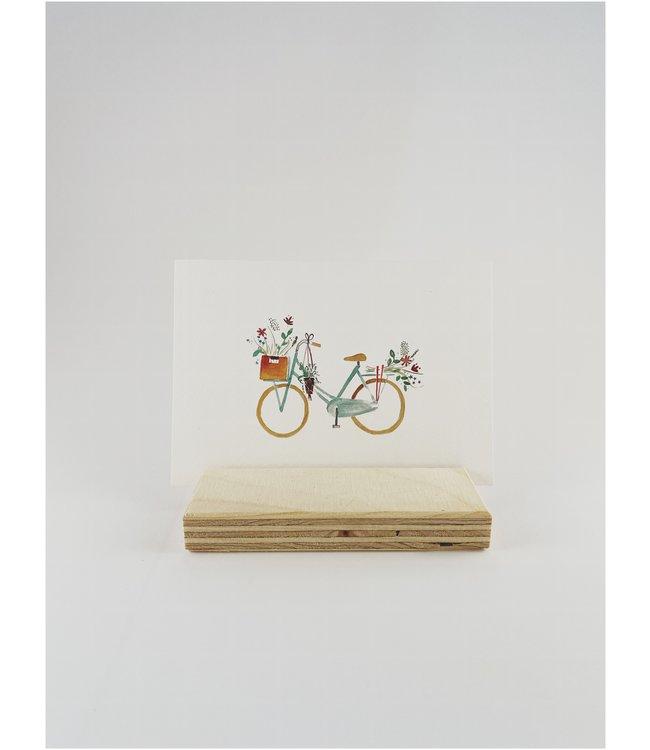 Mijksje postkaart - 'bike'