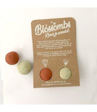 Blossombs Weggeefcadeautje - 2 blossombs