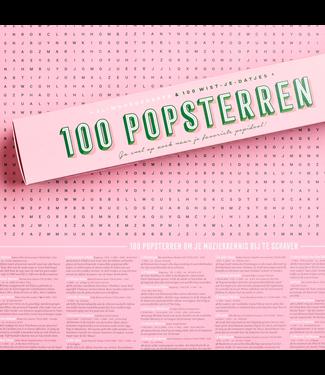 STRATIER XL Poster - 100 Popsterren