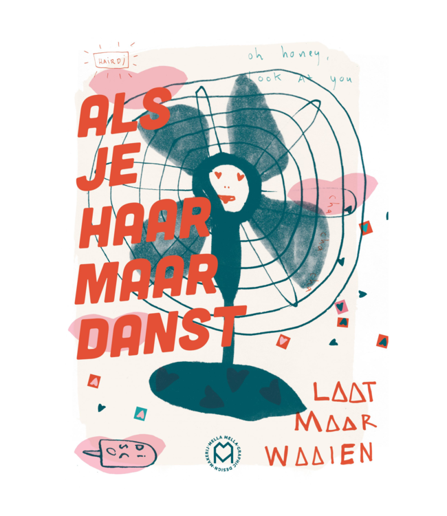 Mella Mella  Poster - Disco