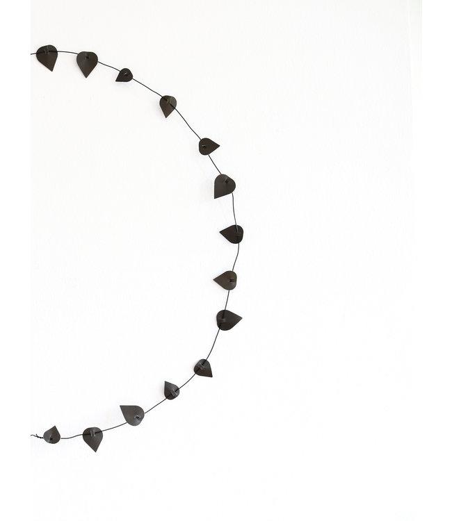 Jurianne Matter Twig Leaves - Black
