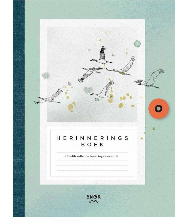 Uitgeverij SNOR Lisa Kroon - Herinneringsboek