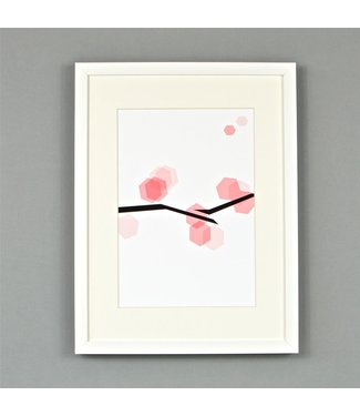 Blossom art Poster Ingrid Petrie A3