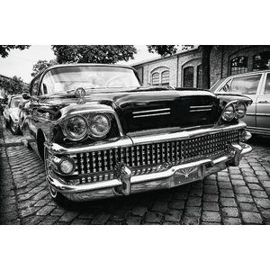 Foto op glas Amerikaanse auto