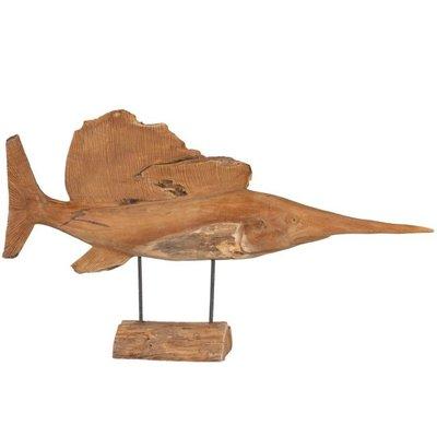 Houtsnijwerk zwaardvis
