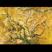 "Wandkleed ""Yellow blossom"""