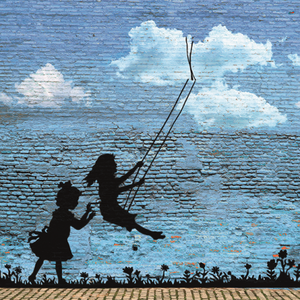 Changeable art Play free (Banksy)
