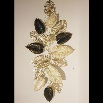 Metalen wanddecoratie Luxe