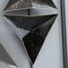 Metalen wanddecoratie 2-luik diamant