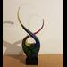 Glasdecoratie glassculptuur Dans