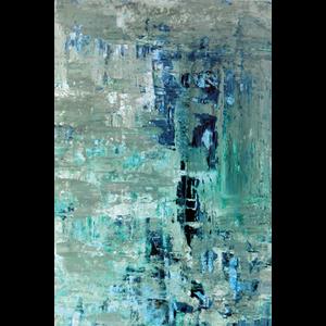 Wanddecoratie Turquoise