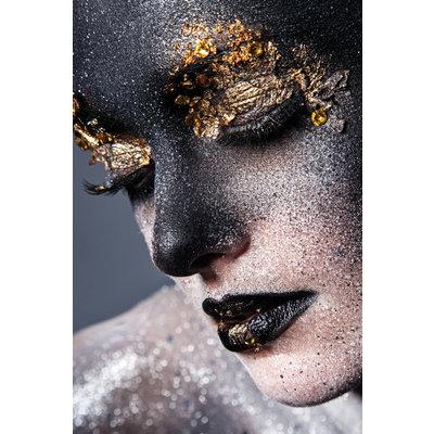 Wanddecoratie Black&Gold
