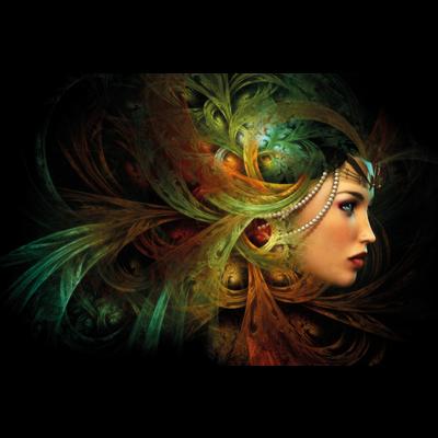 Wanddecoratie Mystery Queen