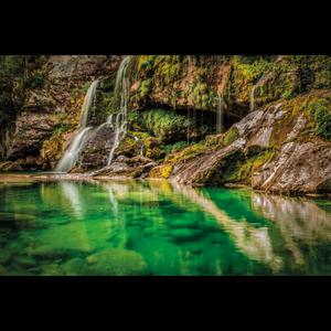 Wanddecoratie Virje Waterfall