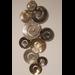 Metalen wanddecoratie Kolk