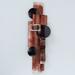 Metalen wanddecoratie Lasco bruin