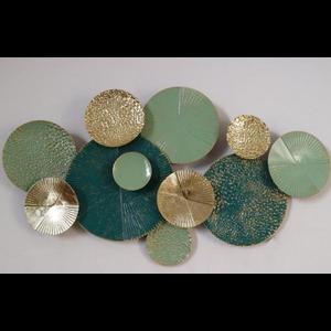 Metalen wanddecoratie Jade