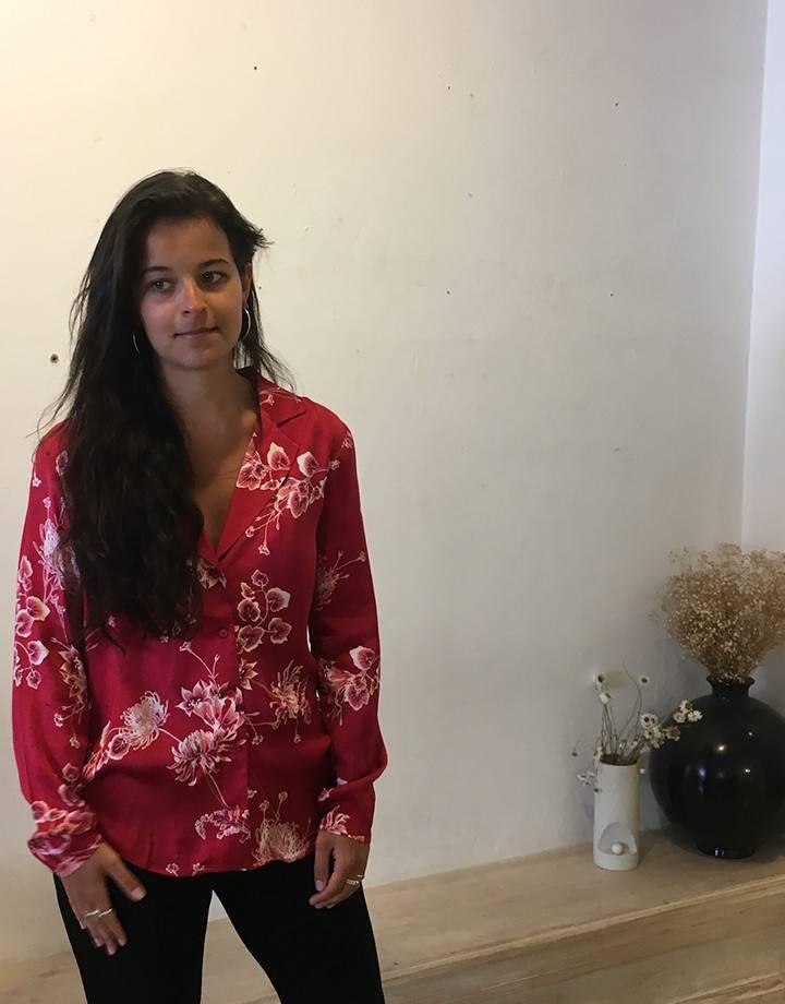Second Female Vicky Shirt Jestler Red