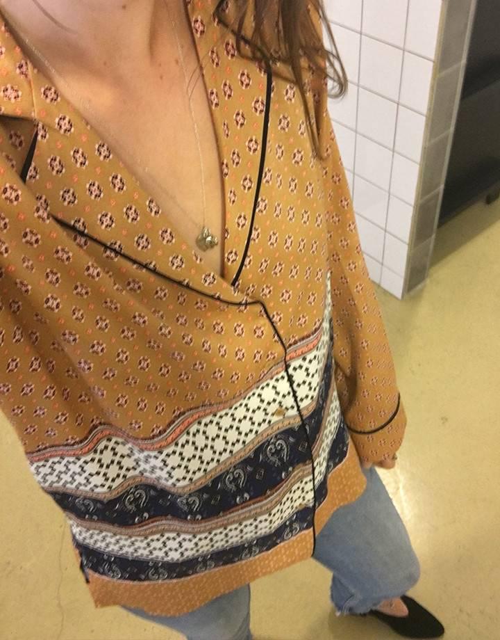Second Female Vavara Shirt Bone Brown
