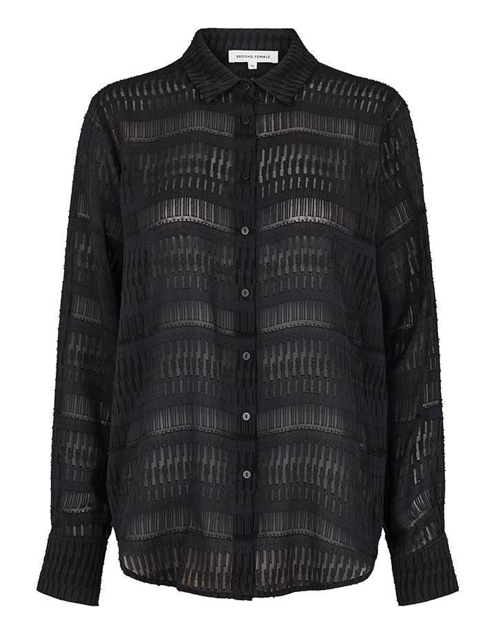 Second Female Fia Shirt Black