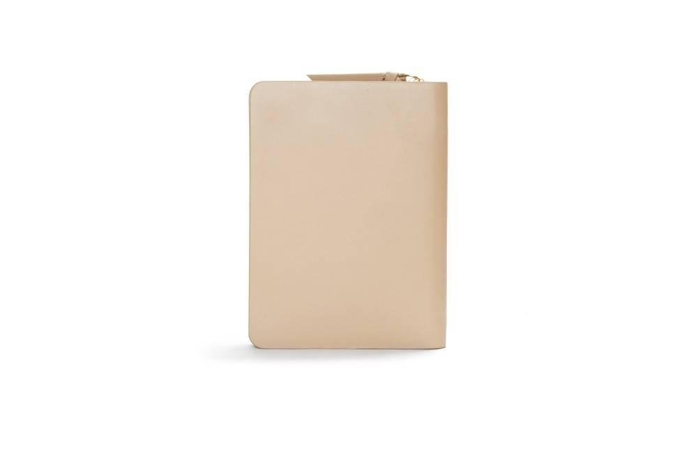 Galax passport wallet - Nude