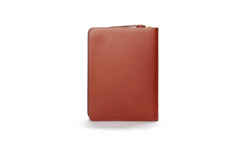 Galax passport wallet - cognac