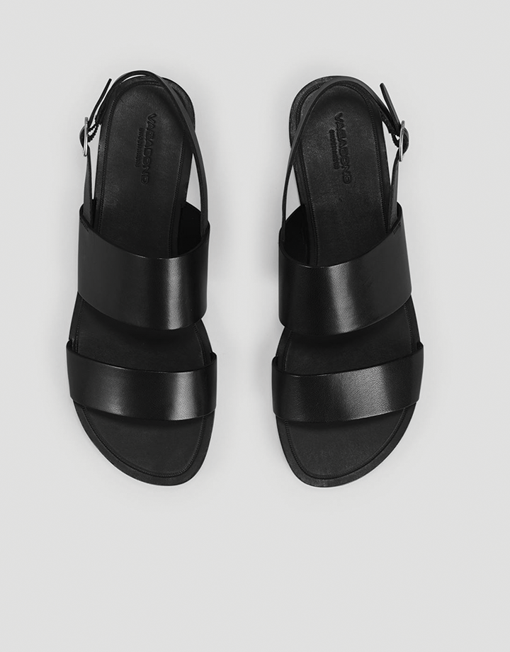 Tia Double strap black