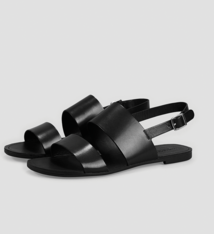 Tia Double strap black