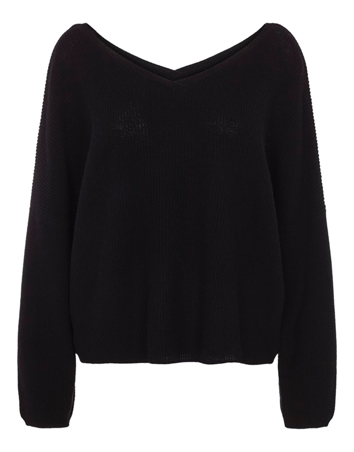 Iona knit black