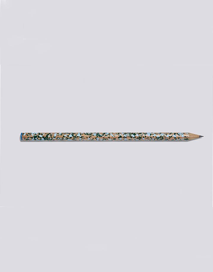 Hay terrazzo pencil blue and green