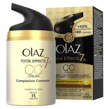 Olaz CC Cream 50 ml Total Effects  7 in 1 Medium Tot Donker