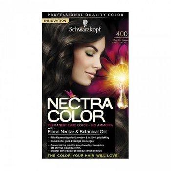 Schwarzkopf Nectra Color 400 Donkerbruin - Haarverf