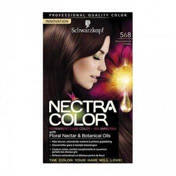 Schwarzkopf Nectra Color 568 Kastanjebruin - Haarverf