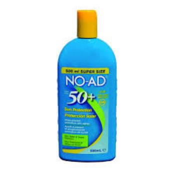 NO-AD Zonnebrand SPF 50+ 500 ml