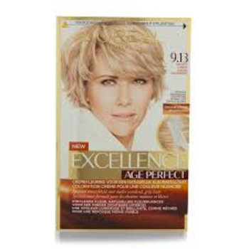 Loreal Excellence Age Perfect 9.13 Z. Licht Asblond