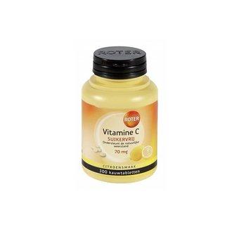 Roter Vitamine C Suikervrij - 300 kauwtabletten