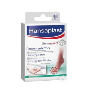 Hansaplast Likdoornpleisters - 8 stuks