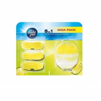 Ambi Pur Flush Lemon & Lime + 3 Navullingen