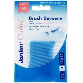 Jordan Clinic Brush Between Size M - 10st