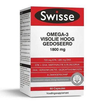 Swisse Omega-3 Visolie Hoog Gedoseerd - 60 capsules