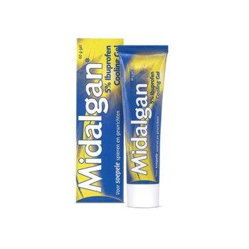 Midalgan 5% Ibuprofen Cooling Gel - 60 gram