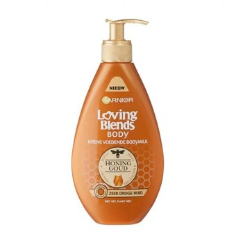 Loving Blends Bodymilk 250 ml Honinggoud