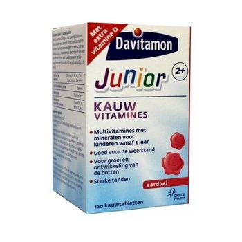 Davitamon Junior 2+ Aardbei - 120 kauwtabletten
