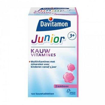 Davitamon Junior 3+ Kauw  Framboos - 120 stuks