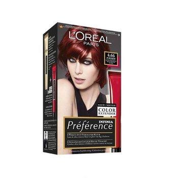 Loreal Preference Feria Color  6.66 Pure Scarlet