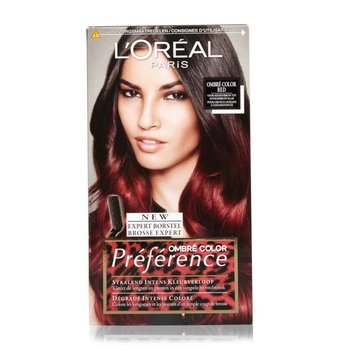 Loreal Recital  6.66 Ombre Color Red